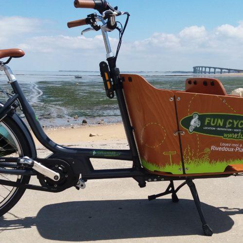 Vélo cargo éléctrique